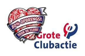 De Grote Clubactie gaat weer van start!