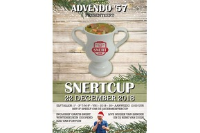 Zaterdag 22-dec: Snertcup + Jägermeistercup + Kerstborrel